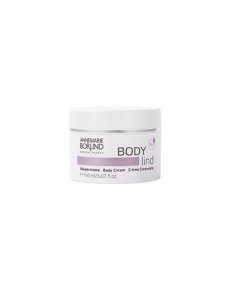BÖRLIND | BODY lind Körpercreme 150ml | transparent