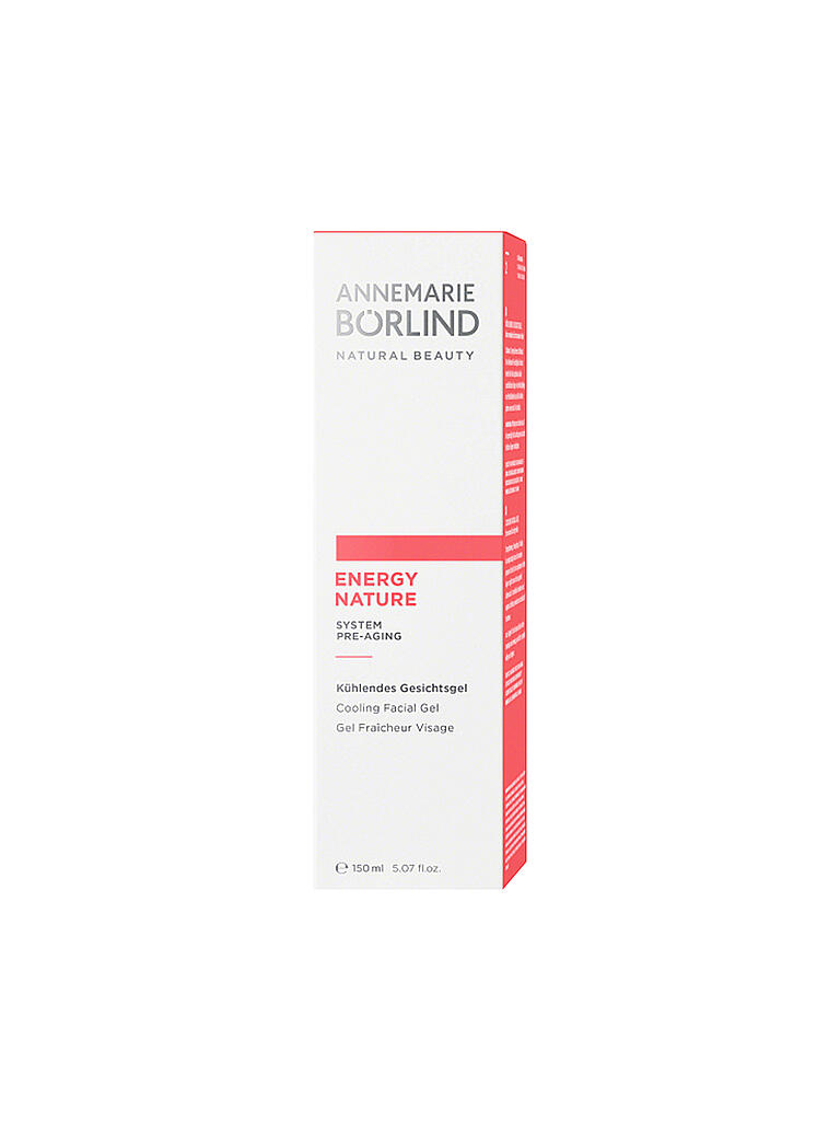 BÖRLIND | Energynature - Gesichtsgel 150ml | transparent