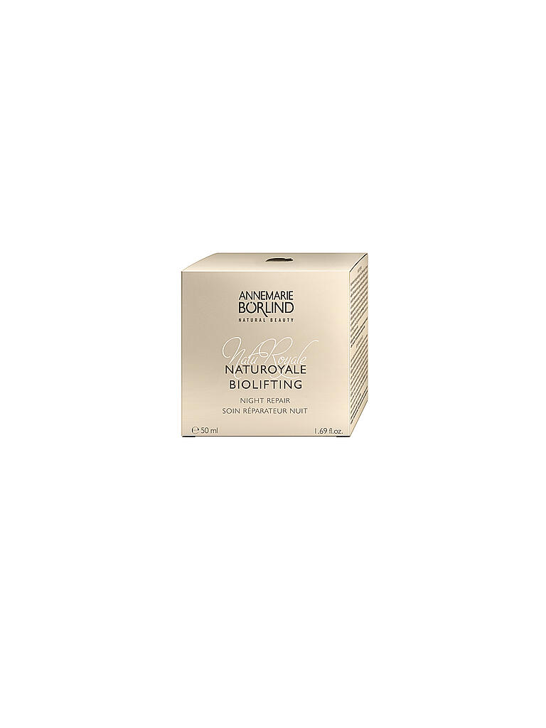 BÖRLIND | NatuRoyale Biolifting Night Repair 50ml | transparent