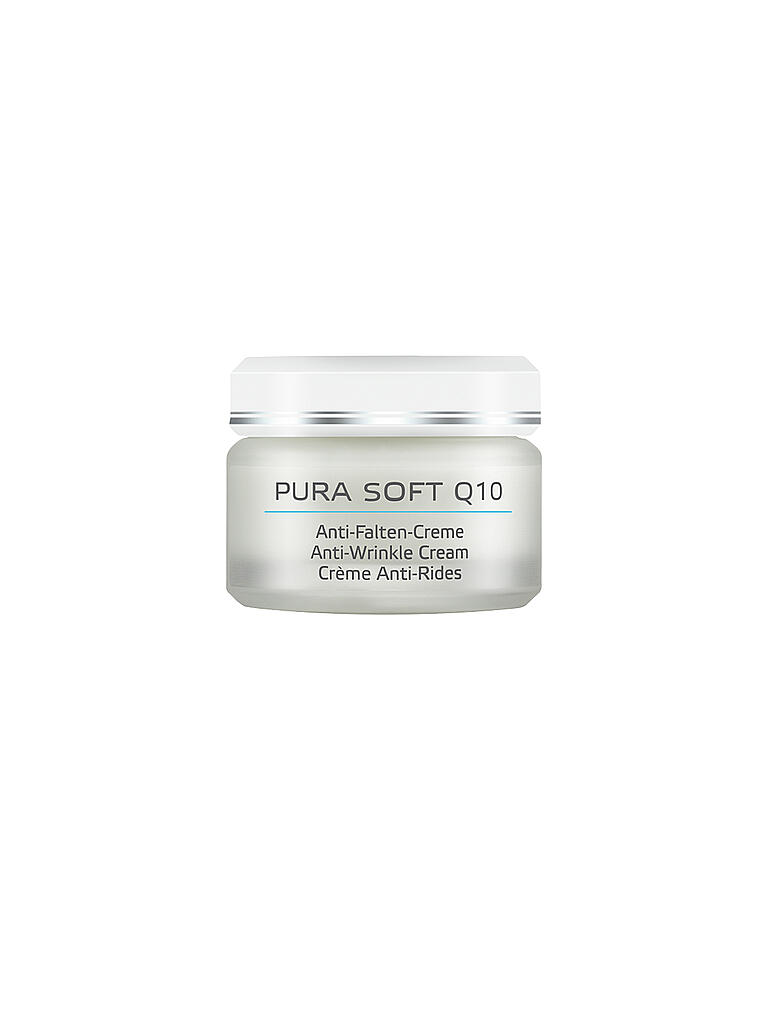 BÖRLIND | Pura Soft Q10 Anti-Falten-Creme 50ml | transparent
