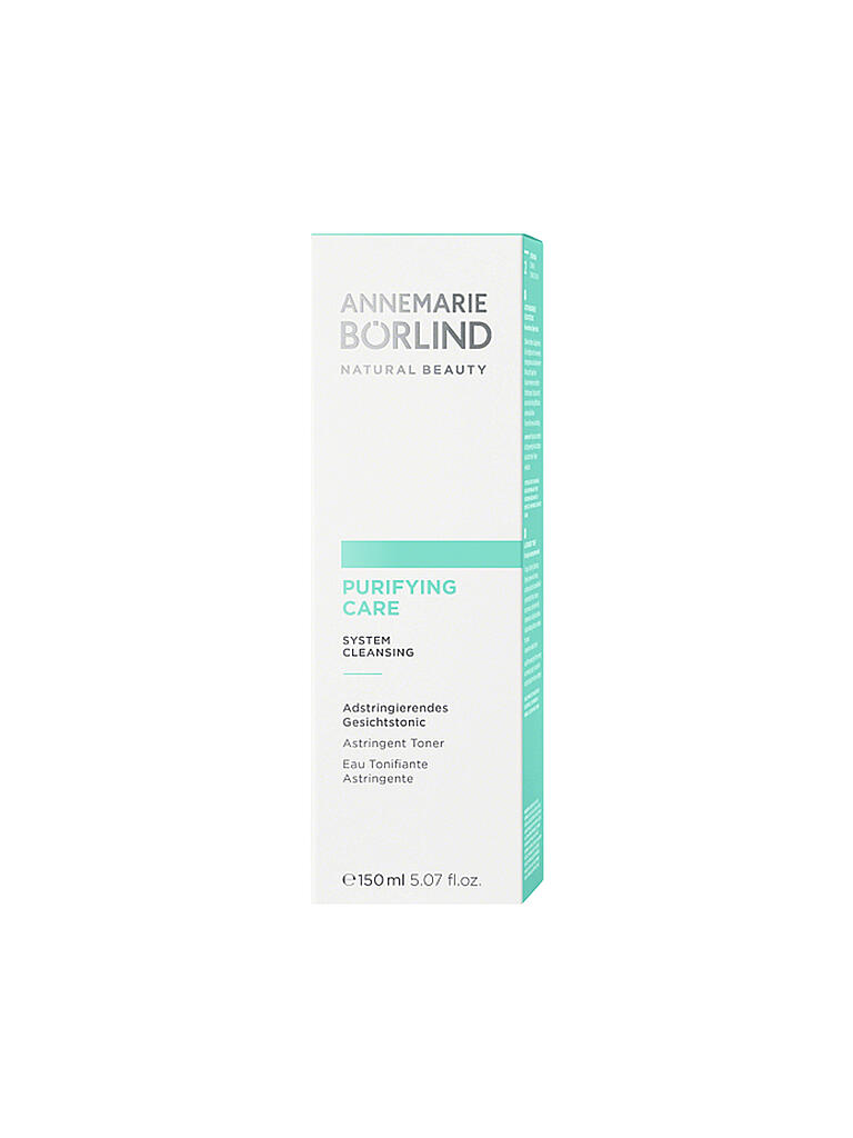 BÖRLIND | PURIFYING CARE Gesichtstonic 150ml | transparent