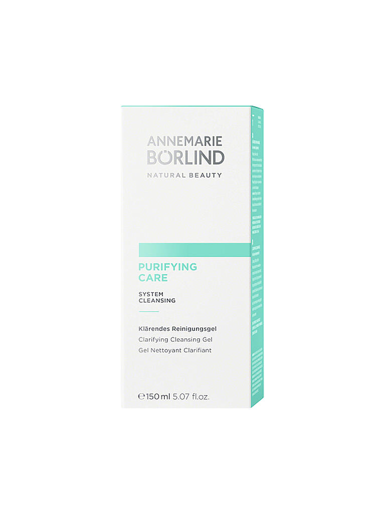 BÖRLIND | PURIFYING CARE Reinigungsgel 150ml | transparent