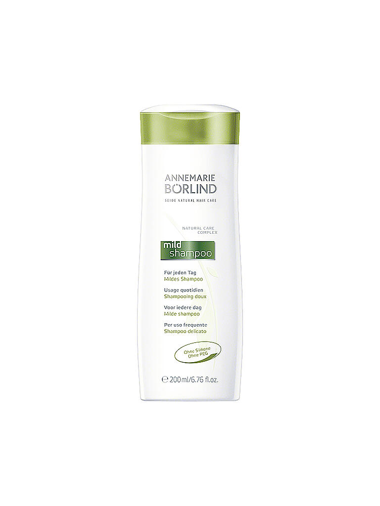 BÖRLIND | SEIDE Mildes Shampoo 200ml  | transparent