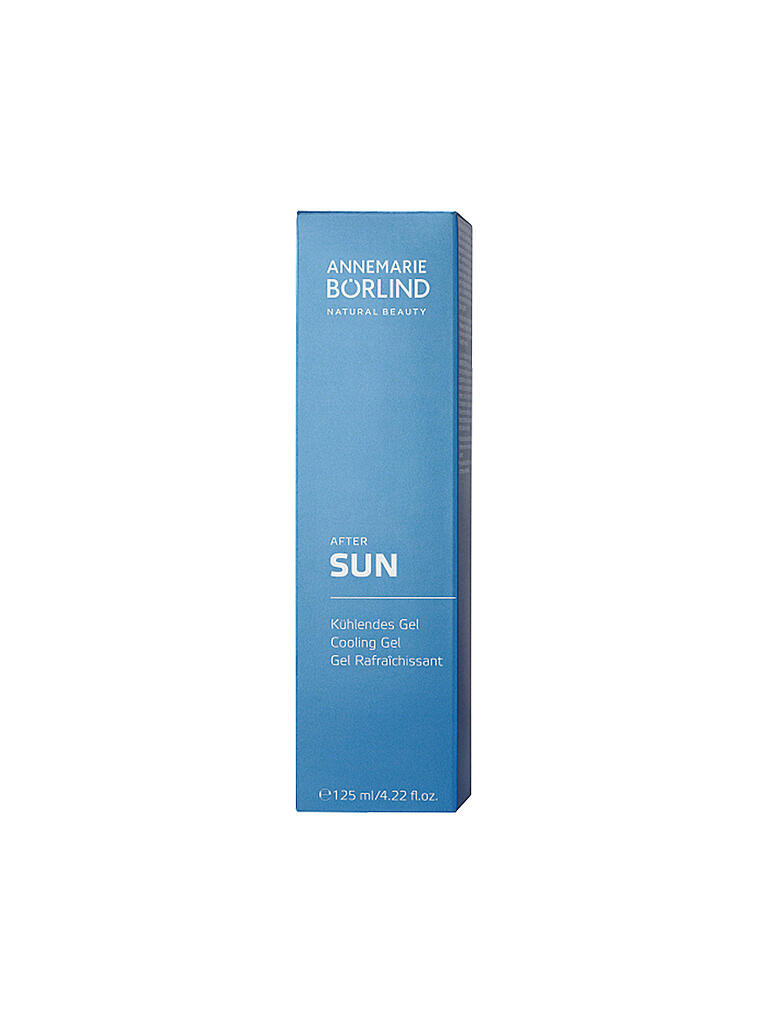 BÖRLIND | SUN After Sun Kühlendes Gel 125ml | transparent