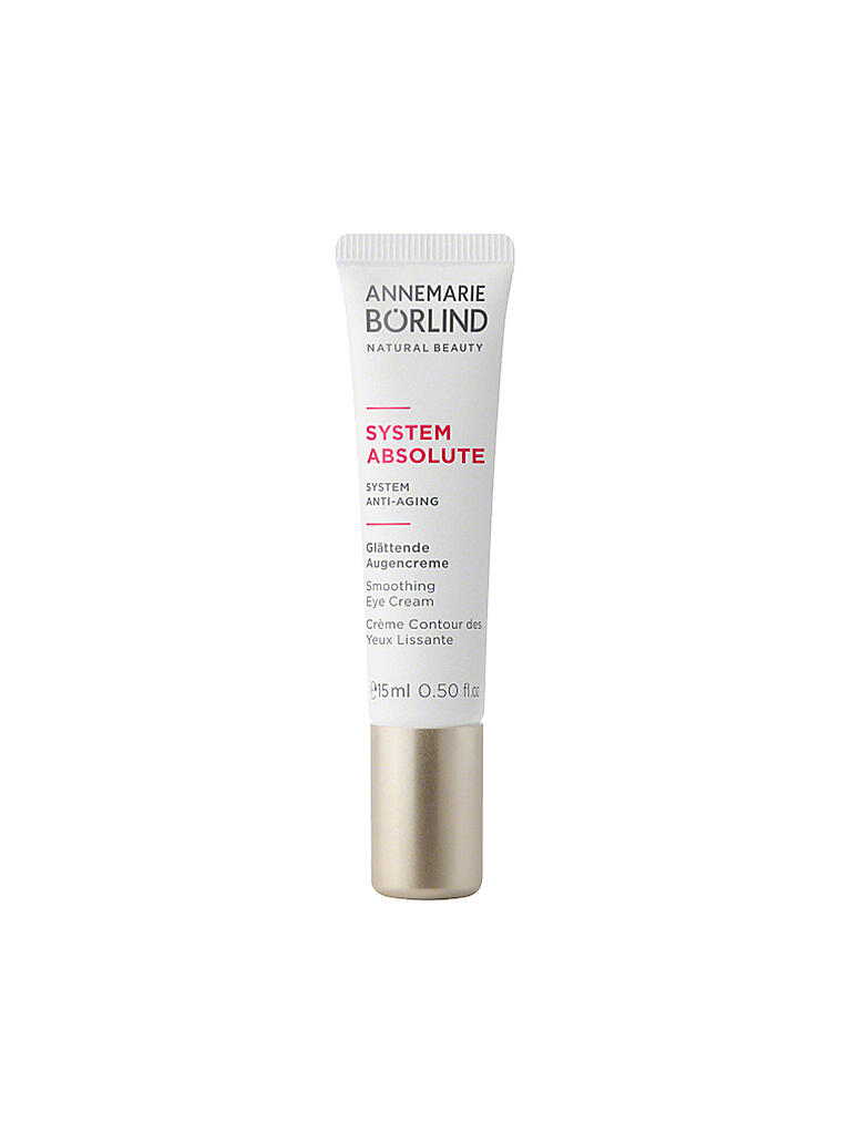 BÖRLIND | SYSTEM ABSOLUTE Augencreme 15ml | transparent