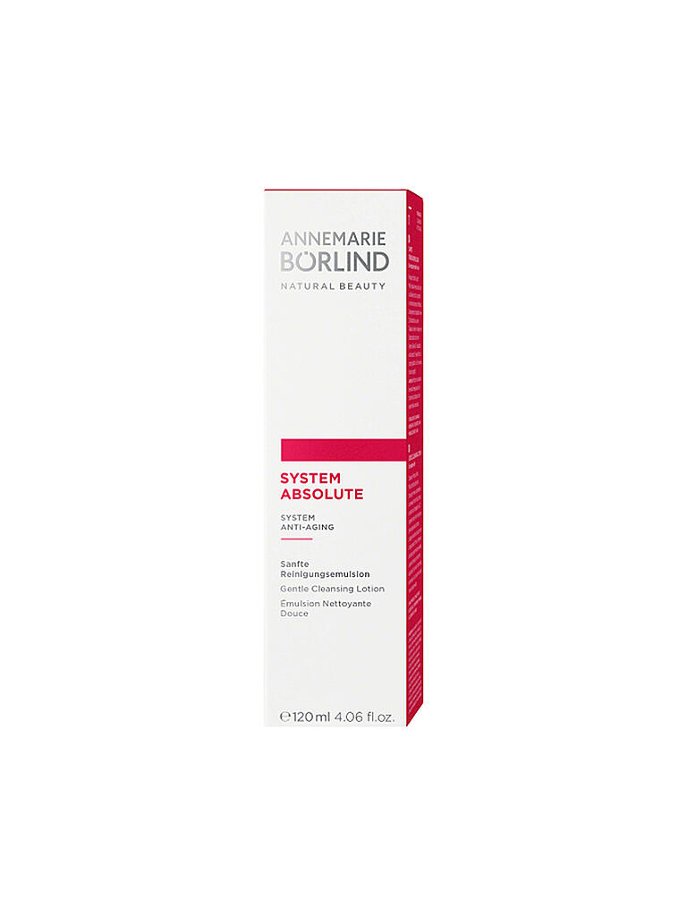 BÖRLIND | SYSTEM ABSOLUTE Reinigungsemulsion 120ml | transparent