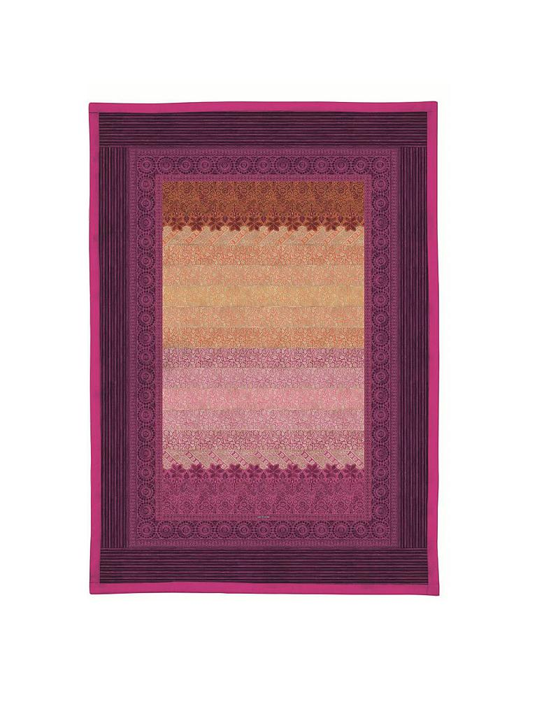 bassetti plaid tagesdecke appiani 135x190cm fuchsia pink. Black Bedroom Furniture Sets. Home Design Ideas