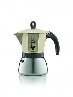 bialetti moka induktion espressokocher f llmenge 3 tassen gold. Black Bedroom Furniture Sets. Home Design Ideas