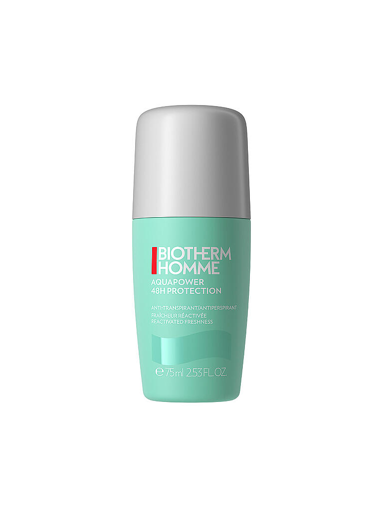 BIOTHERM | Aquapower Deo Roll-On 75ml | transparent