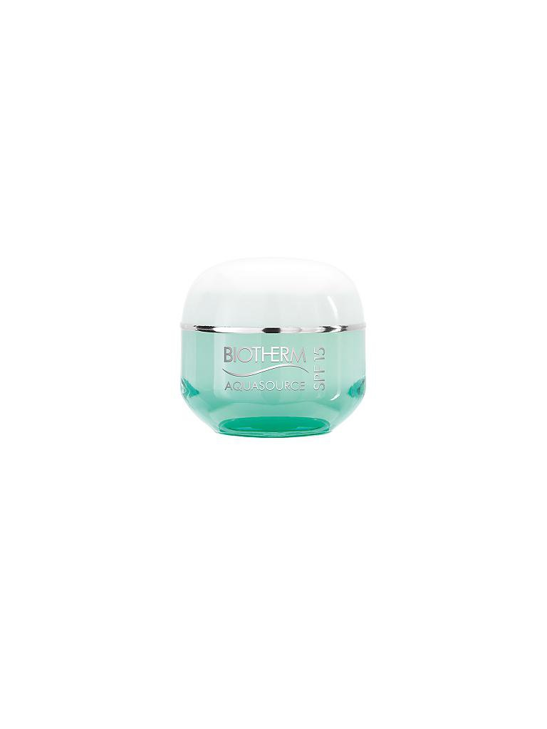 BIOTHERM | Aquasource Air Cream LSF 15 50ml | transparent