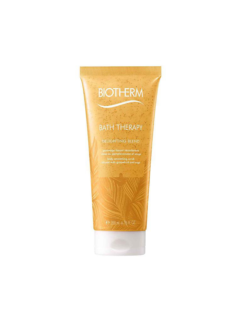BIOTHERM | Delighting Blend - Grapefruit & Salbei - Scrub 200ml | transparent