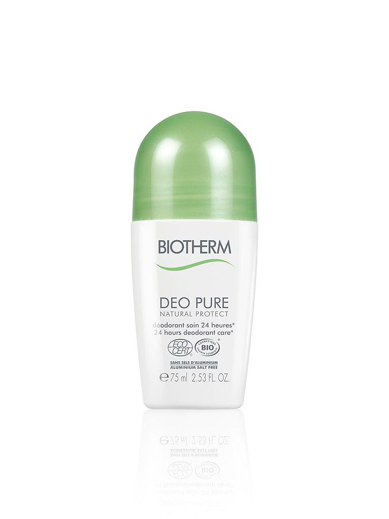 BIOTHERM | Deo Pure Natural Protect Roll-On 75ml | transparent