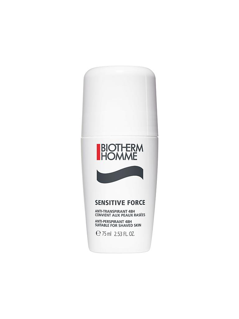 BIOTHERM | Sensitive Force  Deo Roll-On Anti-Transpirant 48h 75ml | transparent