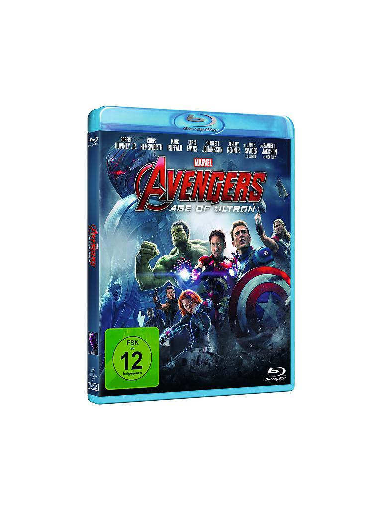 BLU RAY | Avengers - Age of Ultron | transparent