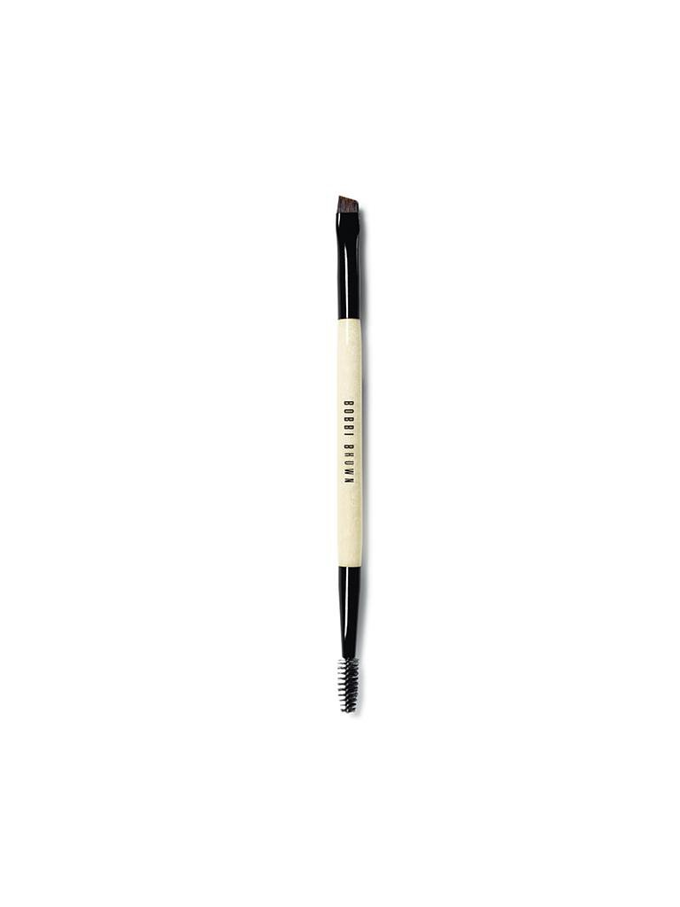 BOBBI BROWN | Dual-Ended Brow Definer/Groomer Brush | transparent