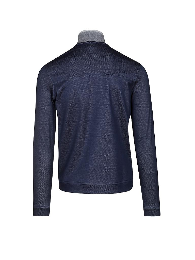 BOSS GREEN | Sweat-Weste  | blau