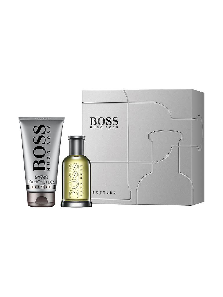 BOSS | Geschenkset - Boss Bottled Eau de Toilette Natural Spray 50ml/100ml | transparent