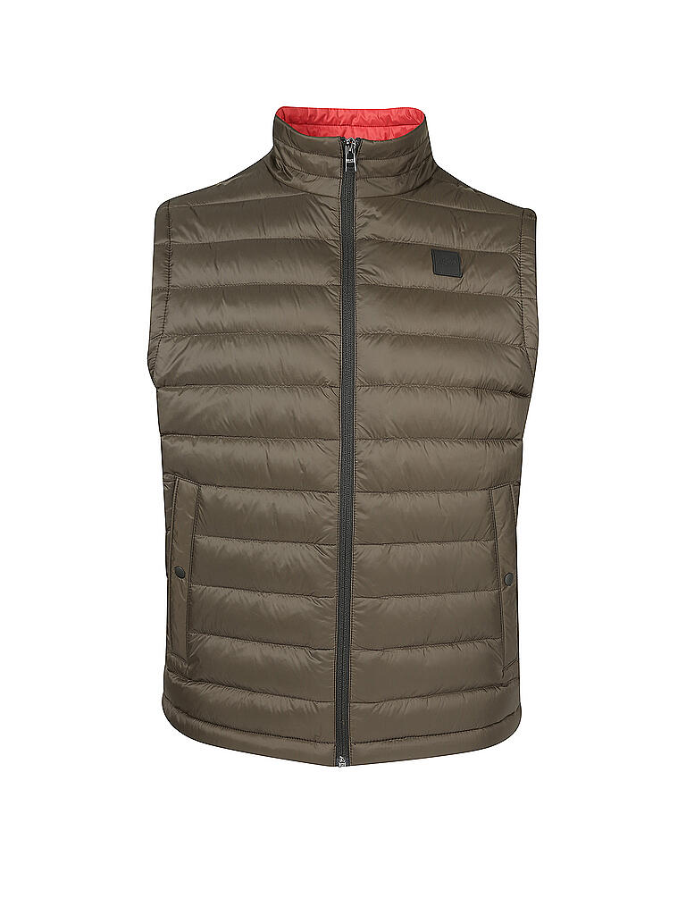 BOSS | Steppgilet Chroma  | olive