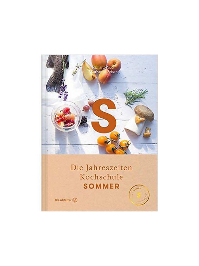 BRANDSTÄTTER VERLAG Kochbuch - Die Jahreszeiten Kochschule Sommer bunt