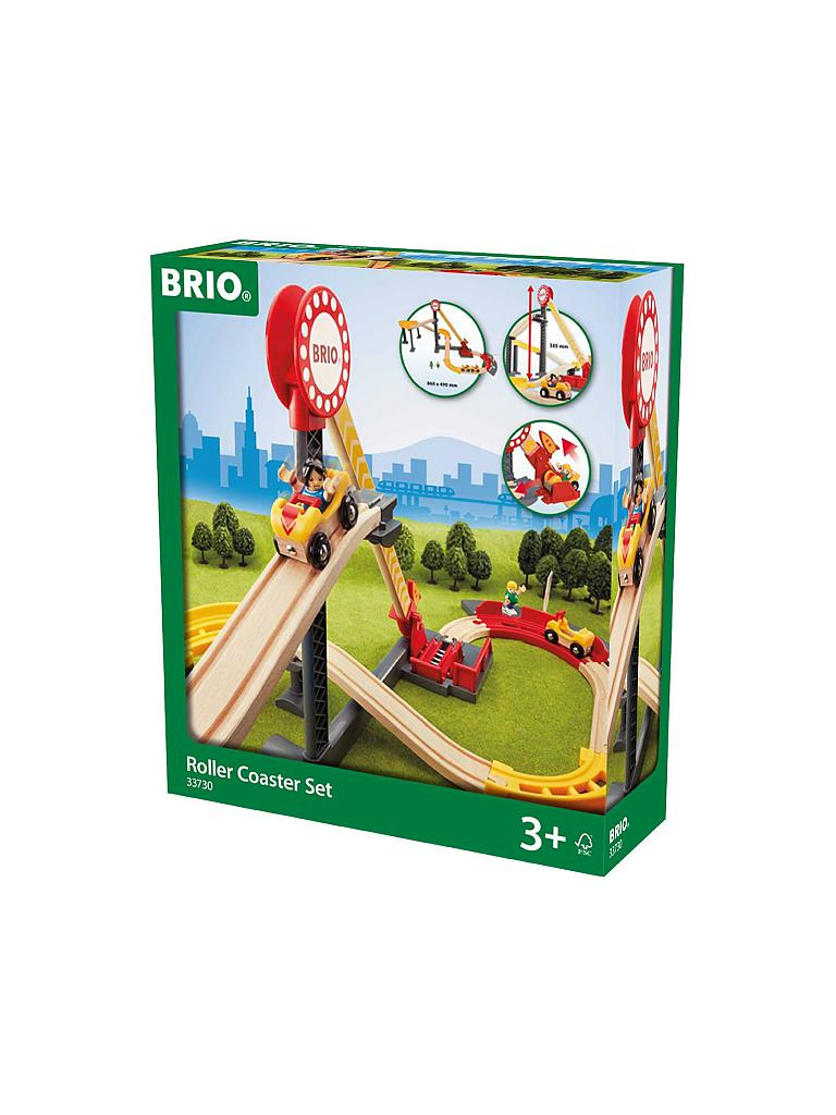 BRIO | Achterbahn Set - Fun Park | transparent
