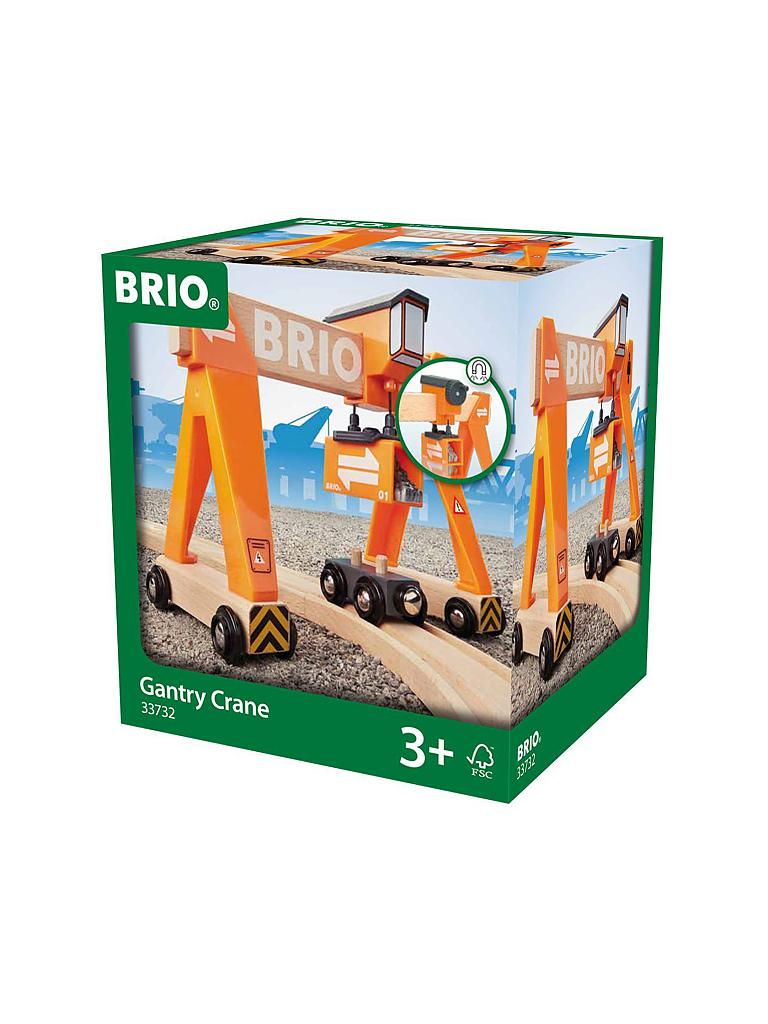 BRIO | Container Verladekran | transparent