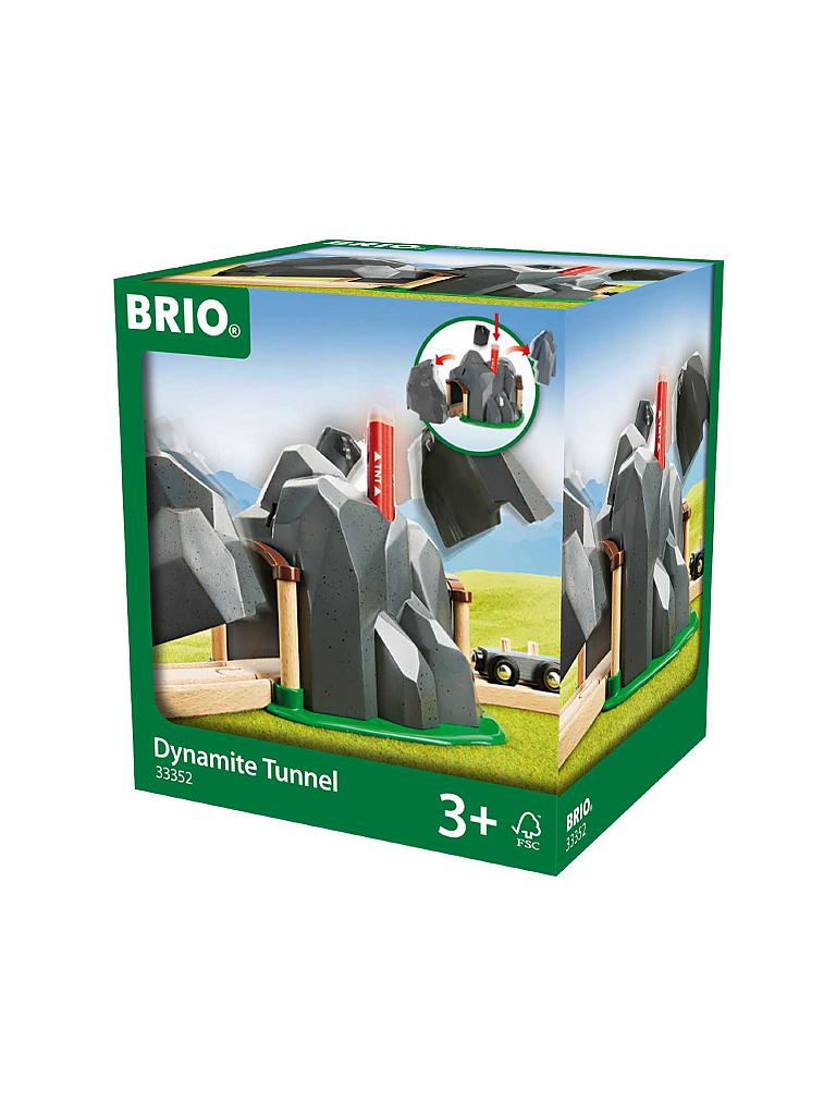 BRIO | Dynamit Aktionstunnel | transparent