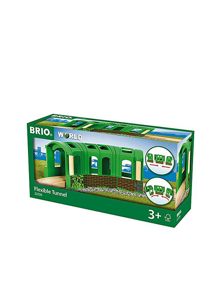 BRIO | Flexibler Tunnel | transparent