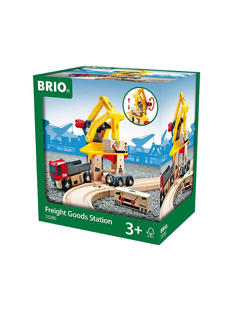 BRIO | Frachtverladestation | transparent