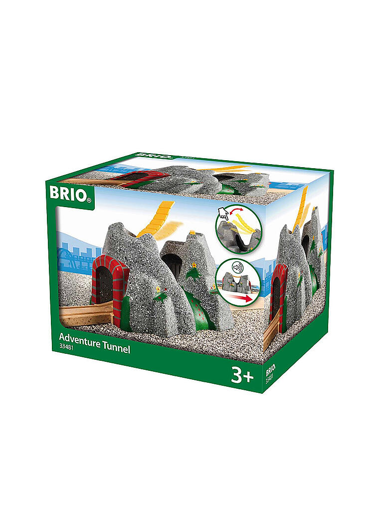 BRIO | Magischer Tunnel | transparent