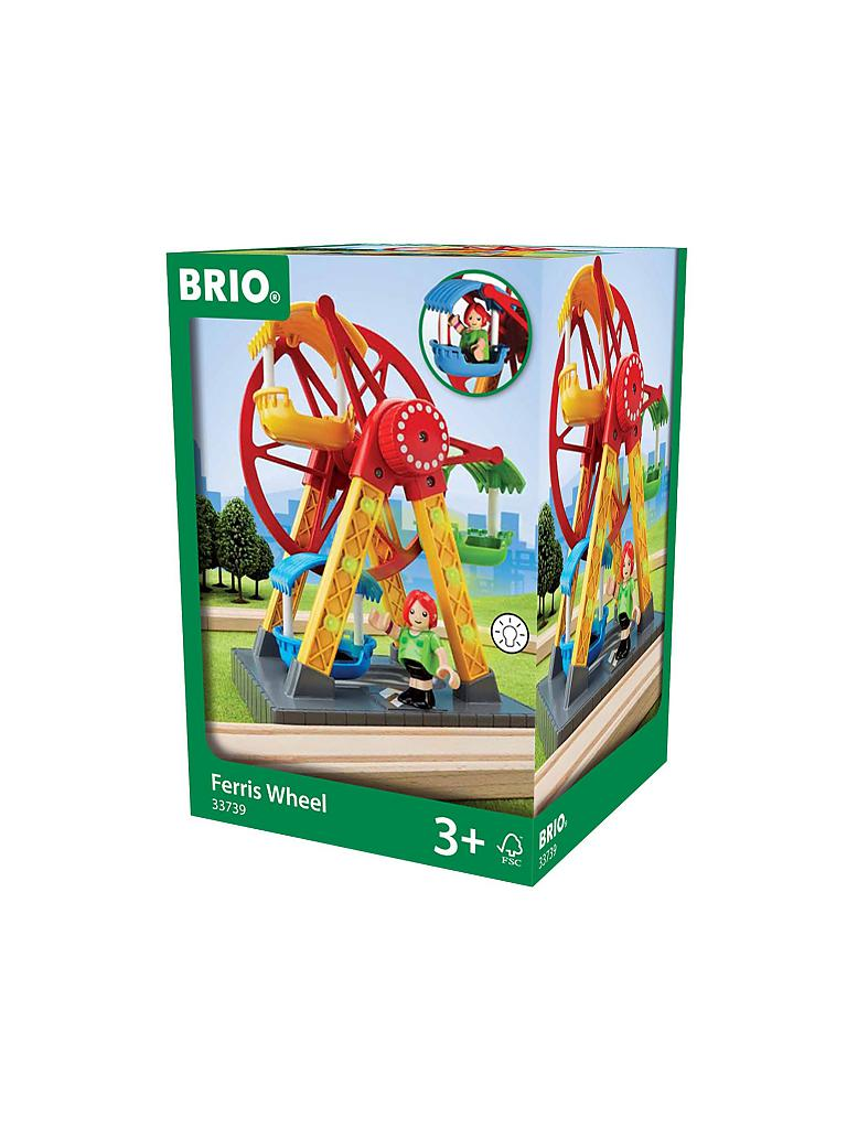 BRIO | Riesenrad mit Blinklicht | transparent