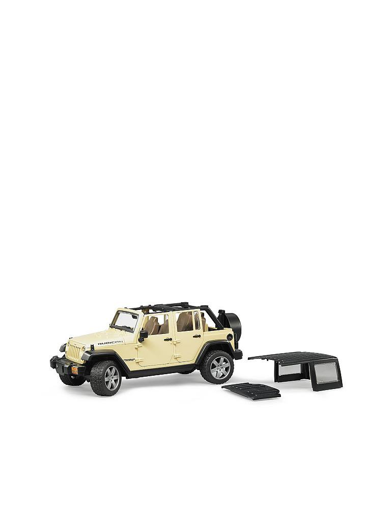 BRUDER | Jeep Wrangler Unlimited Rubicon  | transparent