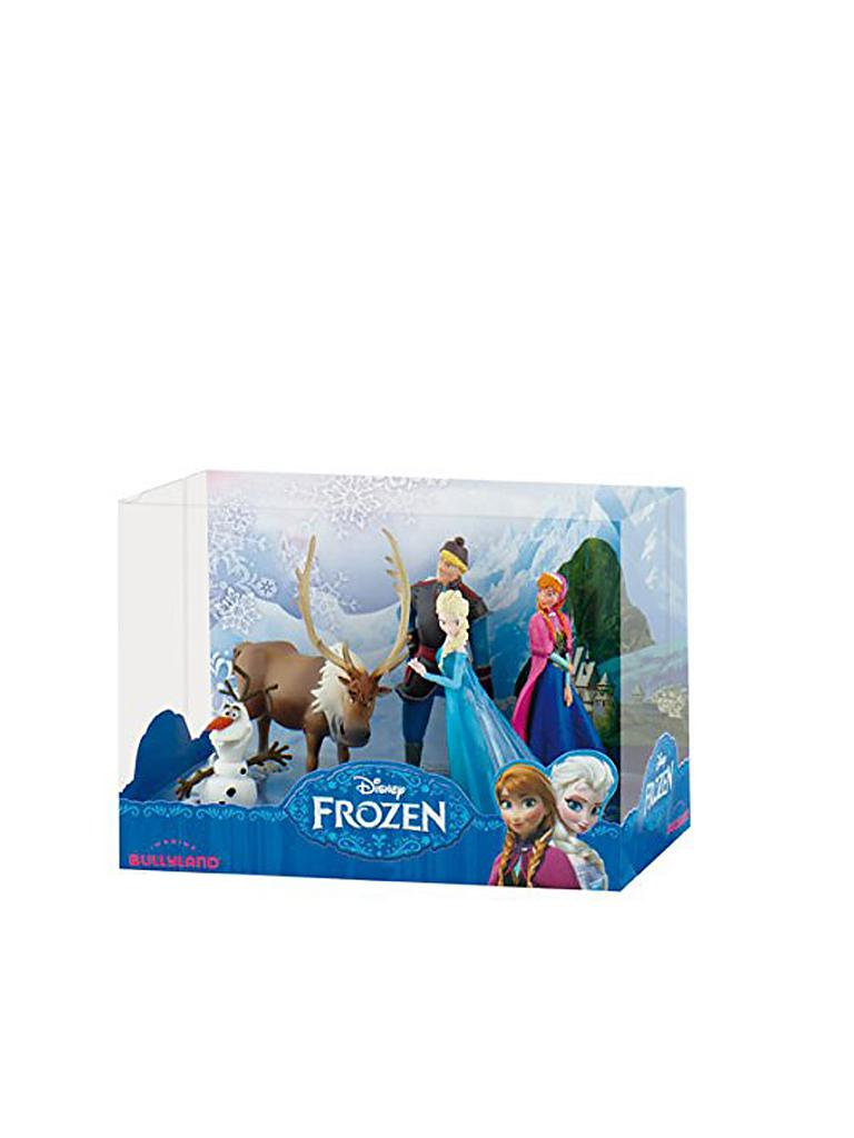 BULLYLAND | Disney Frozen - Die Eiskönigin - Die Eiskönigin Deluxe-Set | transparent