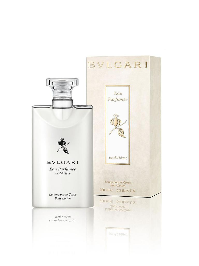BVLGARI | Eau Parfumée au thé blanc Body Lotion 200ml | transparent
