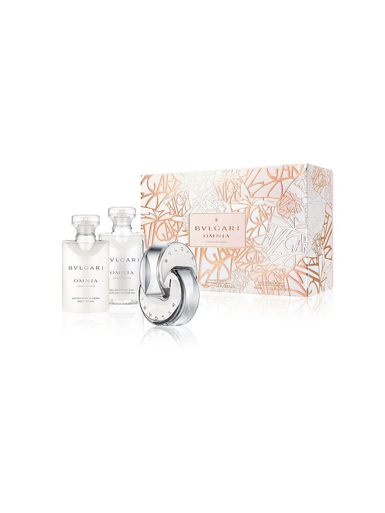BVLGARI | Geschenkset - Omnia Crystalline Eau de Toilette Natural Spray 3x40ml | transparent