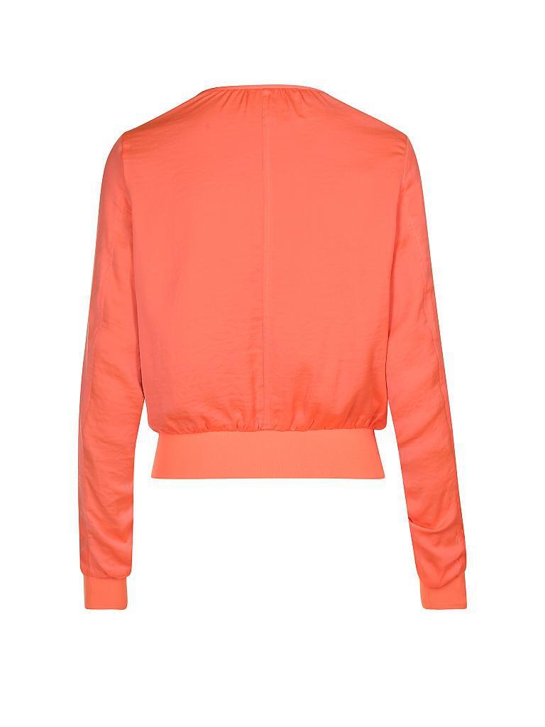 calvin klein jeans jacke orange xs. Black Bedroom Furniture Sets. Home Design Ideas