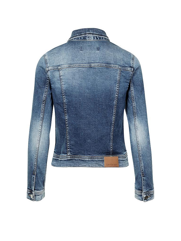 calvin klein jeans jeansjacke blau xs. Black Bedroom Furniture Sets. Home Design Ideas