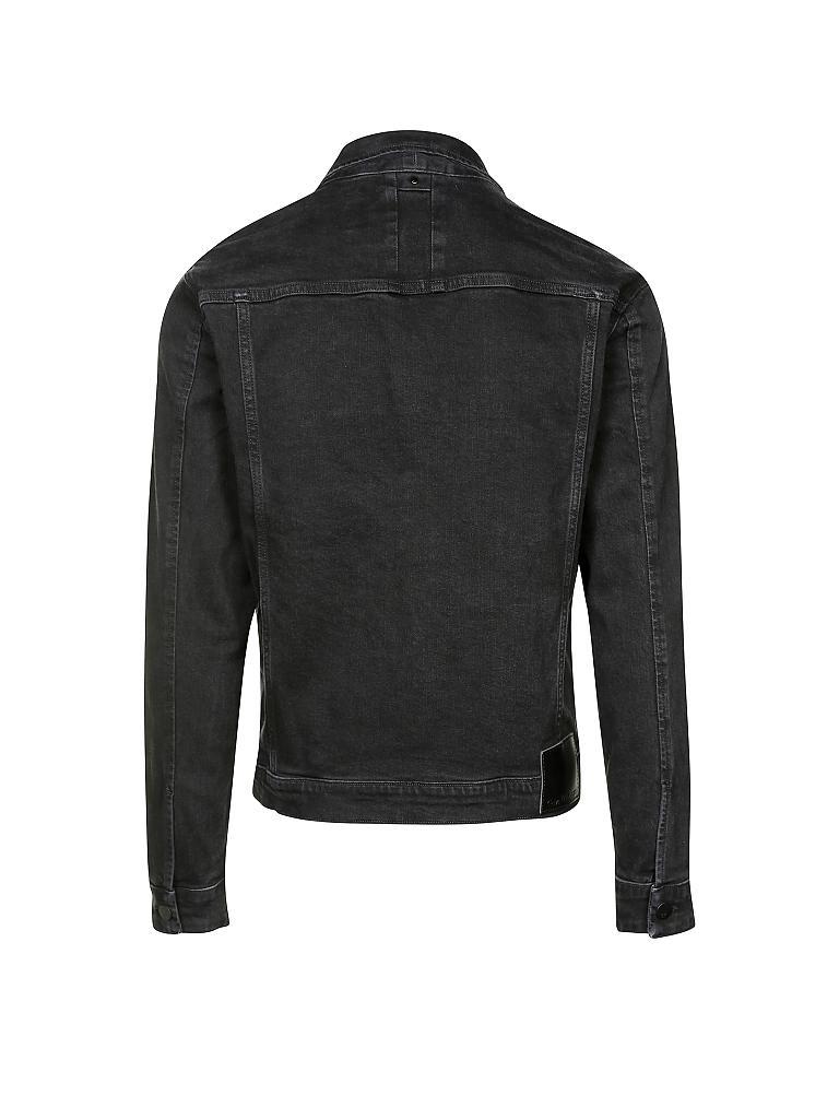 calvin klein jeans jeansjacke schwarz s. Black Bedroom Furniture Sets. Home Design Ideas