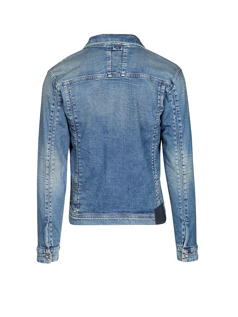 calvin klein jeans jeansjacke grau s. Black Bedroom Furniture Sets. Home Design Ideas