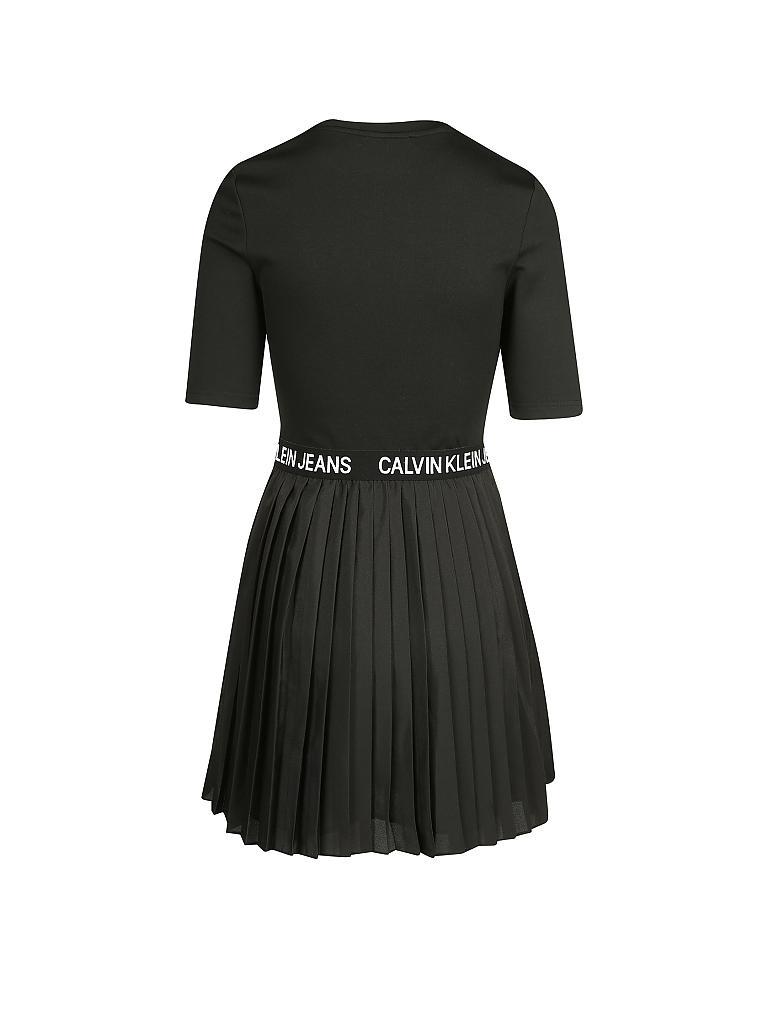 CALVIN KLEIN JEANS Kleid schwarz | L