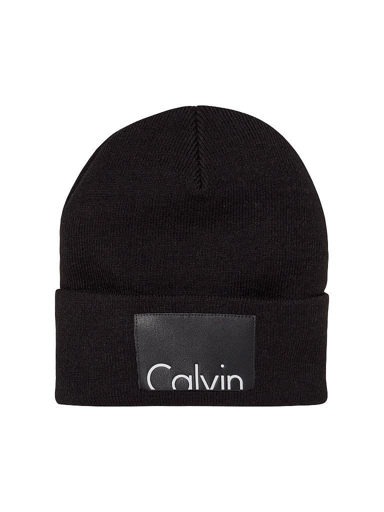calvin klein jeans m tze haube schwarz. Black Bedroom Furniture Sets. Home Design Ideas