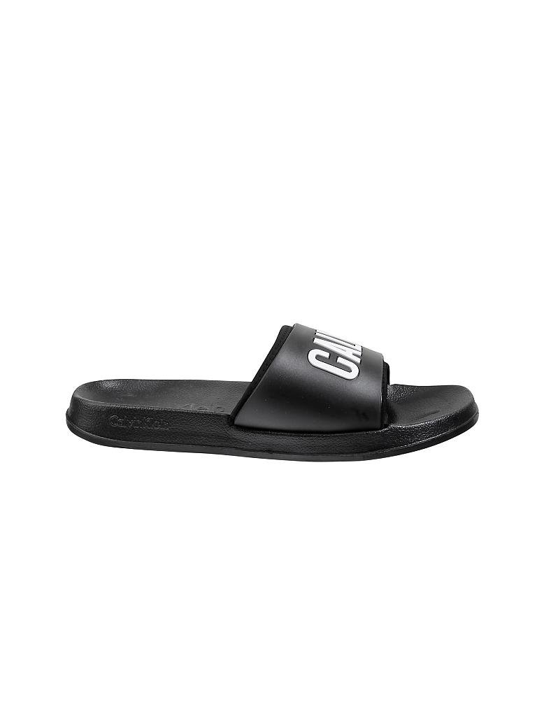 calvin klein jeans sandale ck lette schwarz 39 40. Black Bedroom Furniture Sets. Home Design Ideas