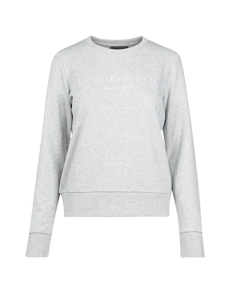calvin klein jeans sweater halia grau m. Black Bedroom Furniture Sets. Home Design Ideas