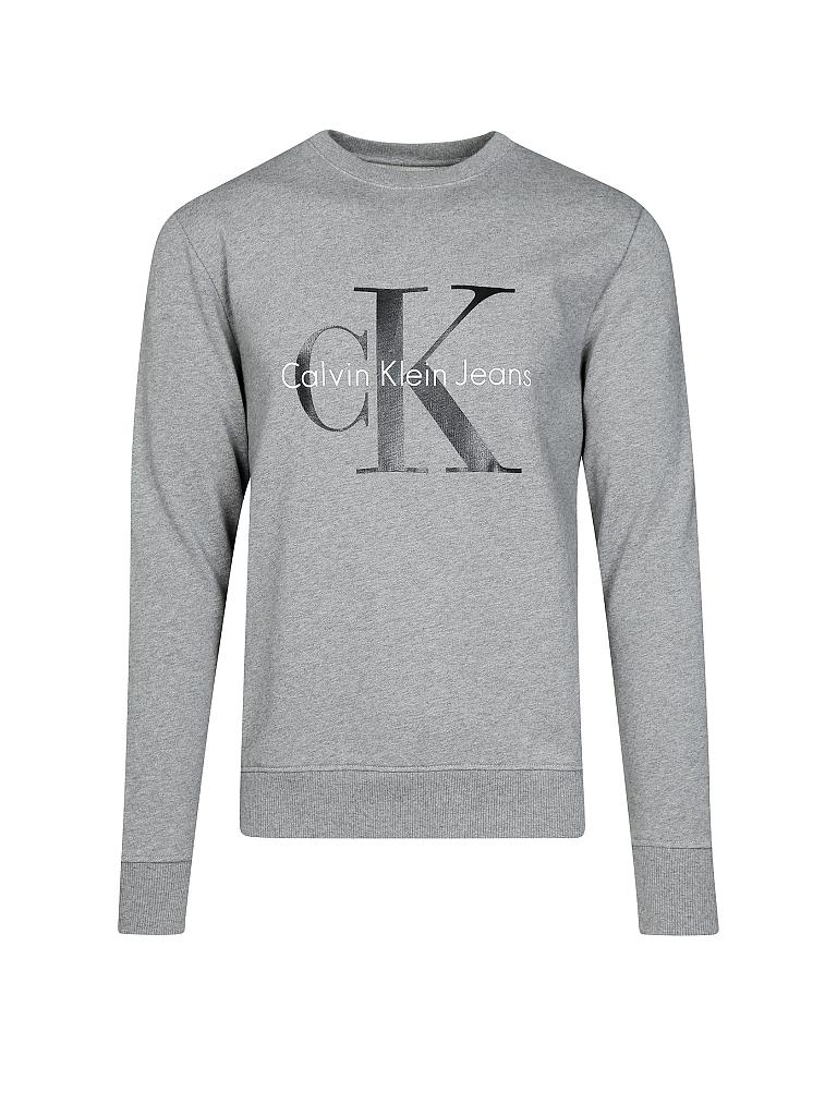 calvin klein jeans sweater grau xl. Black Bedroom Furniture Sets. Home Design Ideas