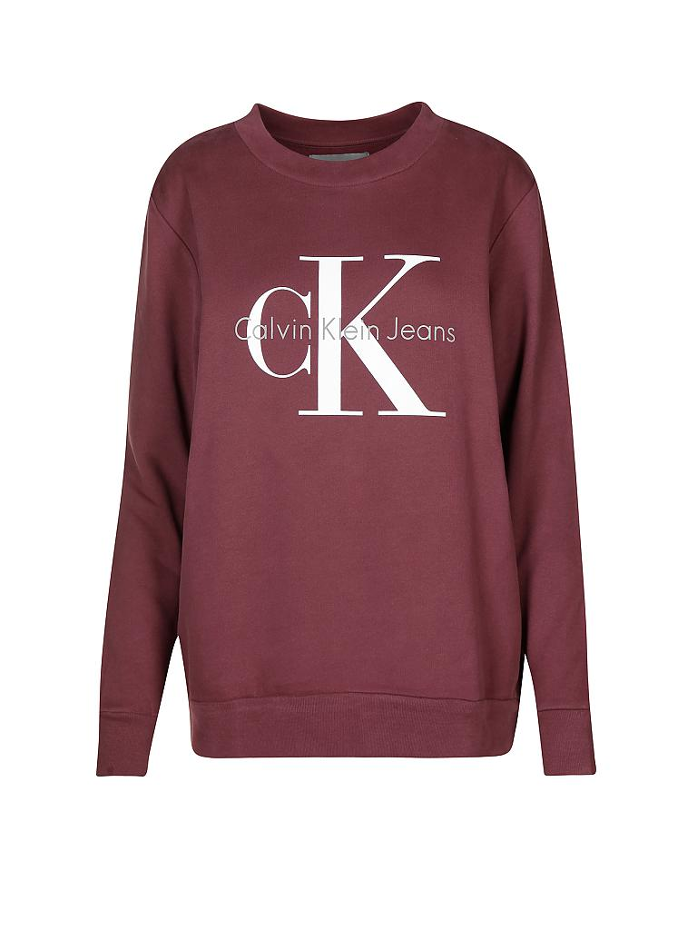 CALVIN KLEIN JEANS | Sweater Oversized-Fit | rot