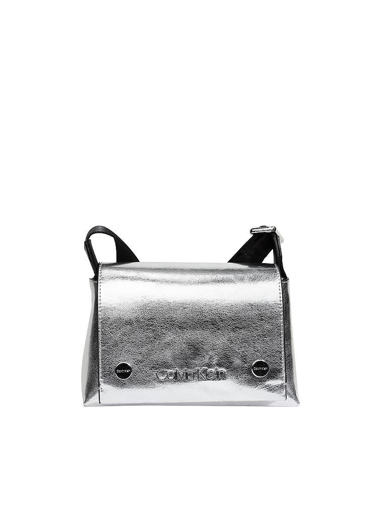 4a64f32071e0b CALVIN KLEIN JEANS Tasche - Minibag silber