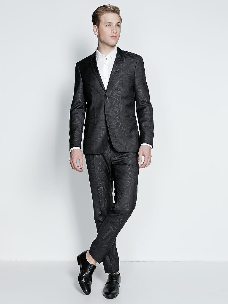 calvin klein anzug tate paris schwarz 52. Black Bedroom Furniture Sets. Home Design Ideas