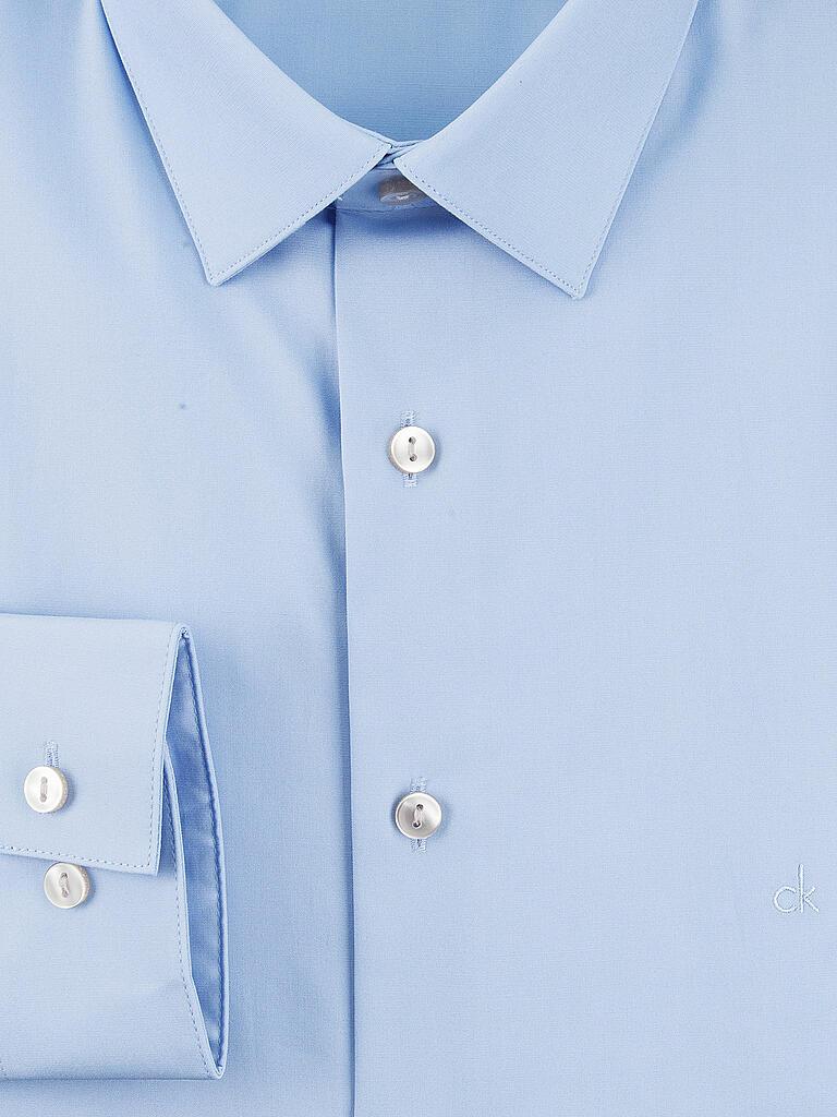 calvin klein hemd slim fit bari blau 37. Black Bedroom Furniture Sets. Home Design Ideas