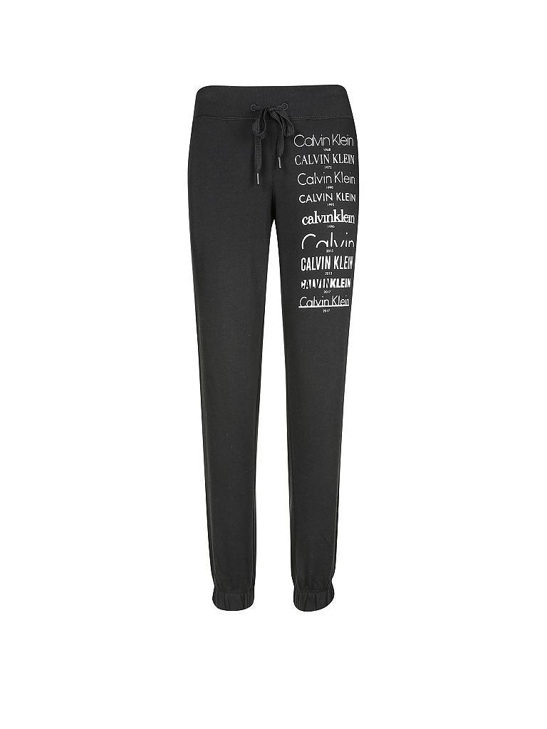 calvin klein jogginghose schwarz xs. Black Bedroom Furniture Sets. Home Design Ideas