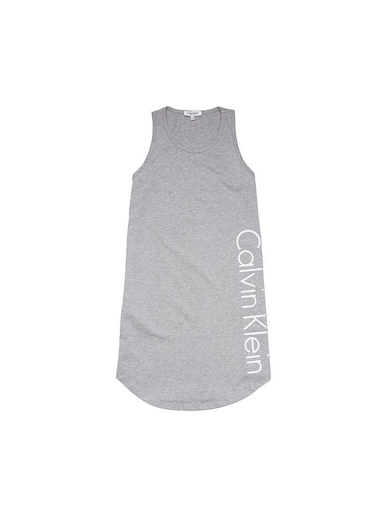 Calvin Klein Mädchen Kleid Grau 128 140