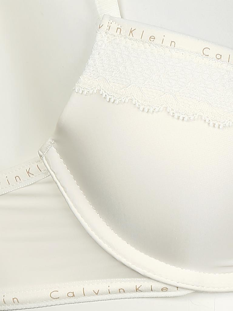 "CALVIN KLEIN | Push-Up BH ""Signature"" (Ivory) 